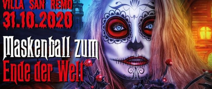 Halloween in Dresden 2020 – Maskenball zum Ende der Welt